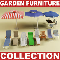 Garden furniture collection Vol.2