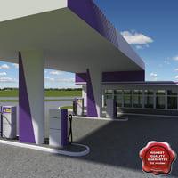 Gas station V13