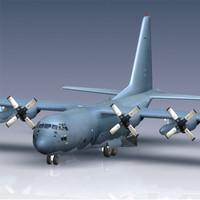 usaf hc-130p c-130 aircraft max