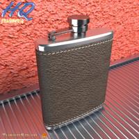 3d model hip flask