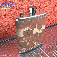 3d model of hip flask 08
