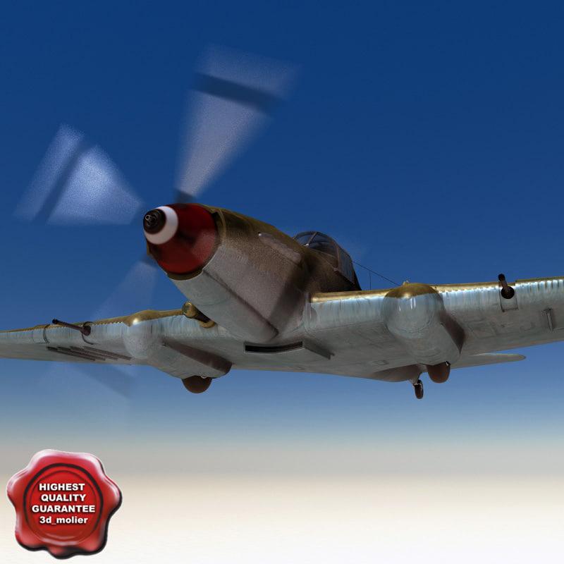 3d ilyushin il-2 shturmovik il2 model