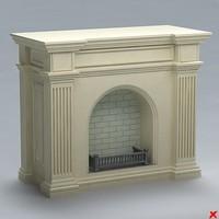 fireplace 3d 3ds