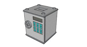 metal safe 3ds