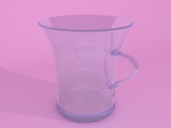 free mug 3d model