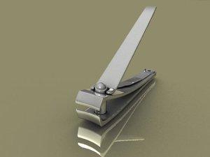 nail clipper 3d ma