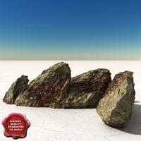 3dsmax stones v6