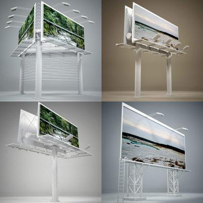 3d max billboard standard
