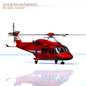 3ds agusta westland 139 air ambulance