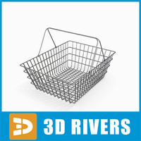 3ds max metallic basket