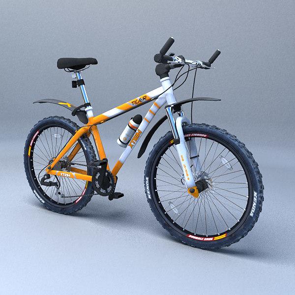 3dsmax mountain bike