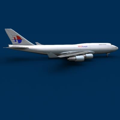 747 747-400 malaysia 3ds