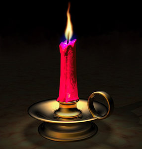 3ds candle flame