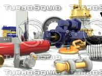 3ds max car parts