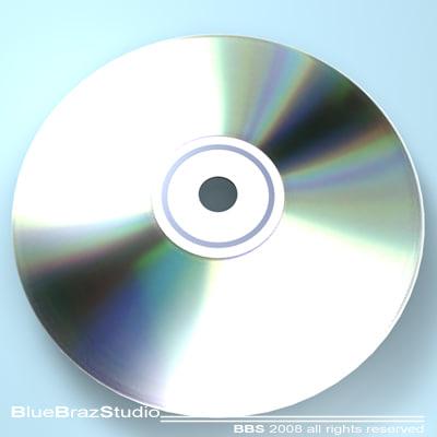free cd dvd 3d model