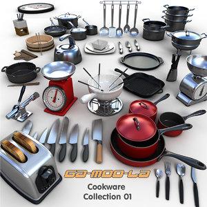 kitchen griddle kettle 3d model