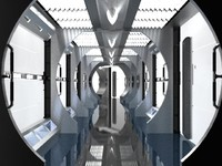 Enterprise NX-01 corridor