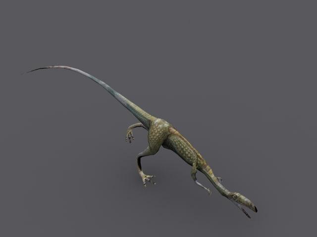 compsognathus animation 3d 3ds