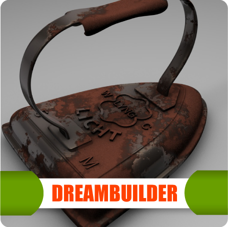 old iron 3d model