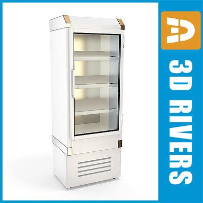 3ds max refrigerating freezer