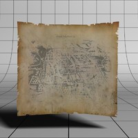 Animated Scroll Treasure Map