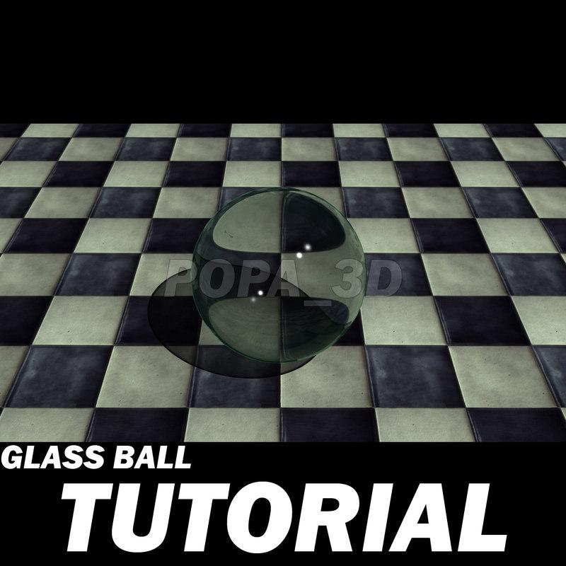 3d model step realistic glass