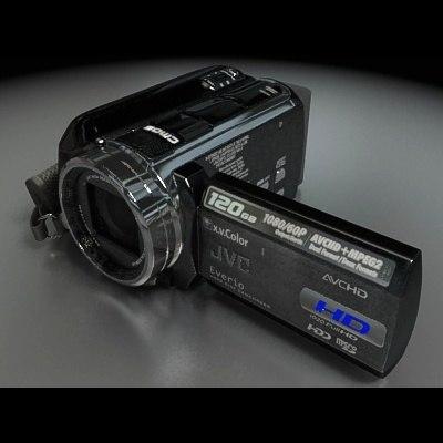 3d jvc camcorder gz-hd40