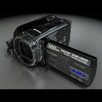 JVC GZ-HD40 Camcorder