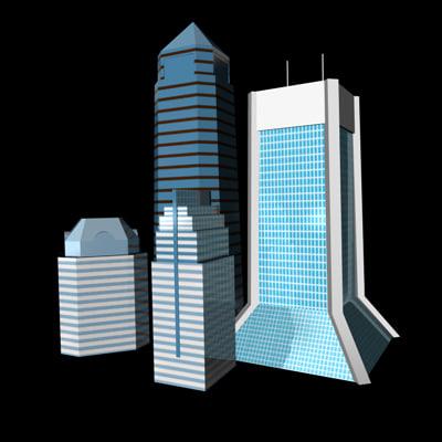 buildings jacksonville 3ds