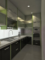 3d kitchen design model