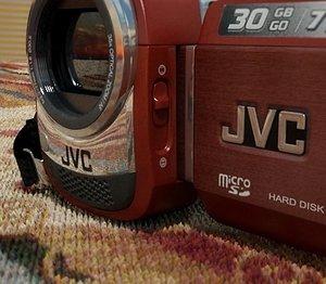 jvc camcorder gz-mg330 3d model
