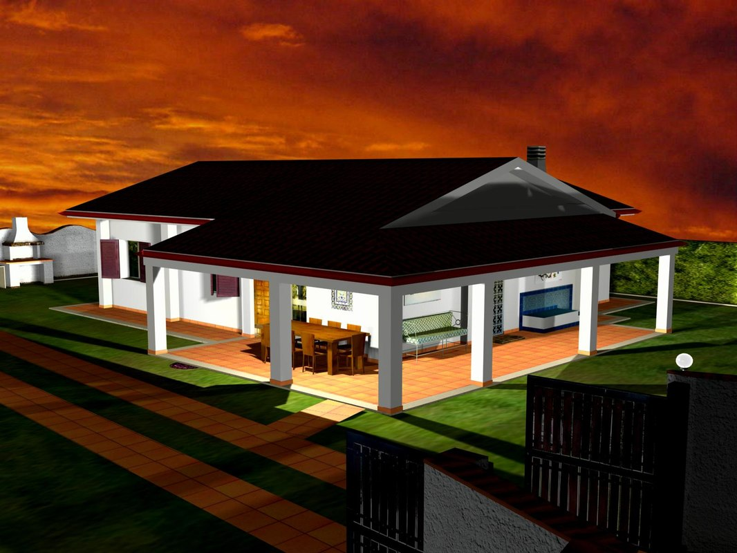 Bungalow 3D Models for Download
