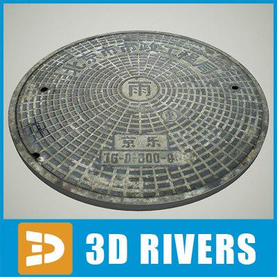 maya manhole cover
