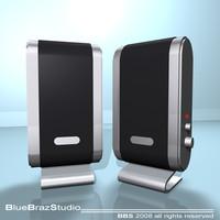 pc speakers 3d 3ds