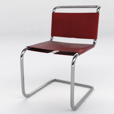 spoleto chair 3d max
