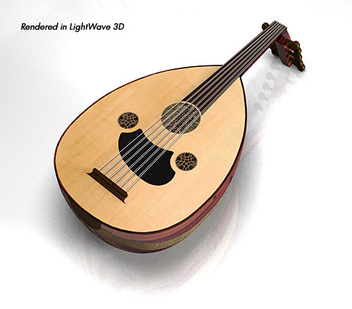 oud loot polygons 3d 3ds