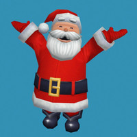 3ds max santa clause