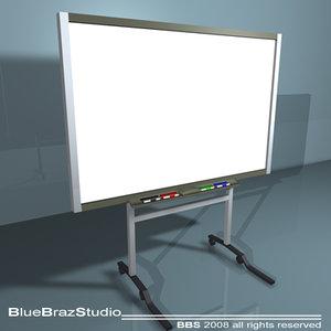 instructional smart board 3ds