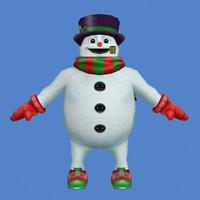 Xmas_Snowman_3ds.zip
