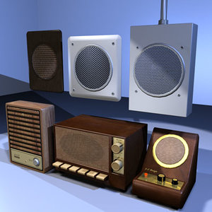 3d model speaker box 01