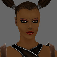 3d model trixxxie leather armor