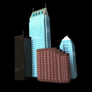 cinema4d buildings tampa bay