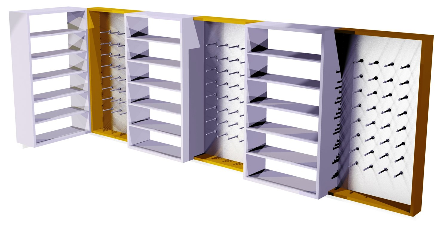 wall shelving max
