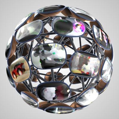 maya multi vision ball