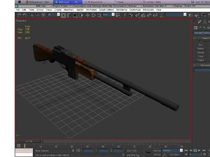 free browning automatic rifle bar 3d model