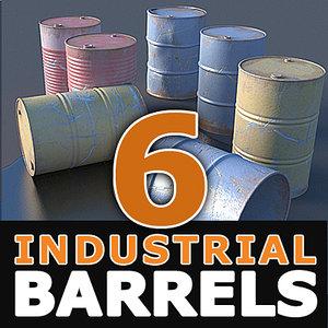 3d hires barrels