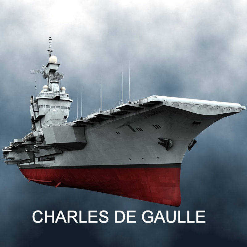 french aircraft carrier charles max