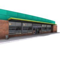 3d convenient store bp