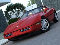 3d american supercar model