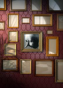 3d model photo frames